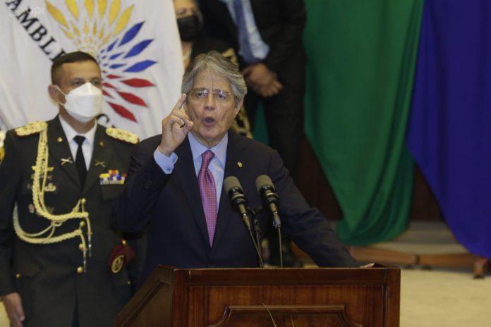 El presidente Lasso presentó la Ley de Oportunidades