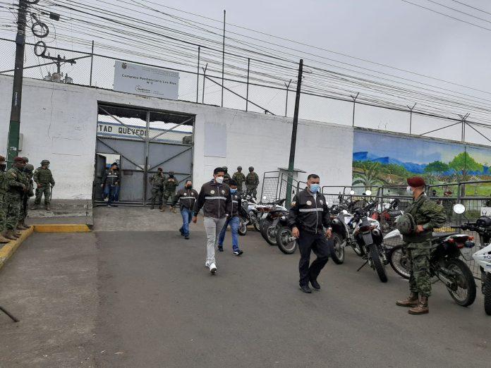 Militares en la cárcel de Quevedo