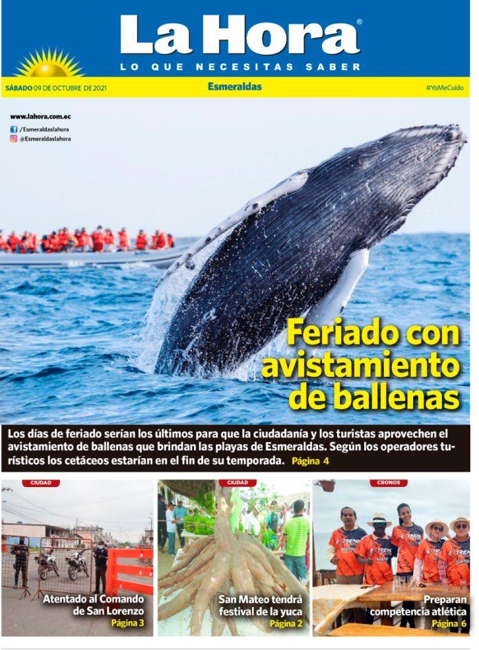 Esmeraldas: 09 de octubre, 2021