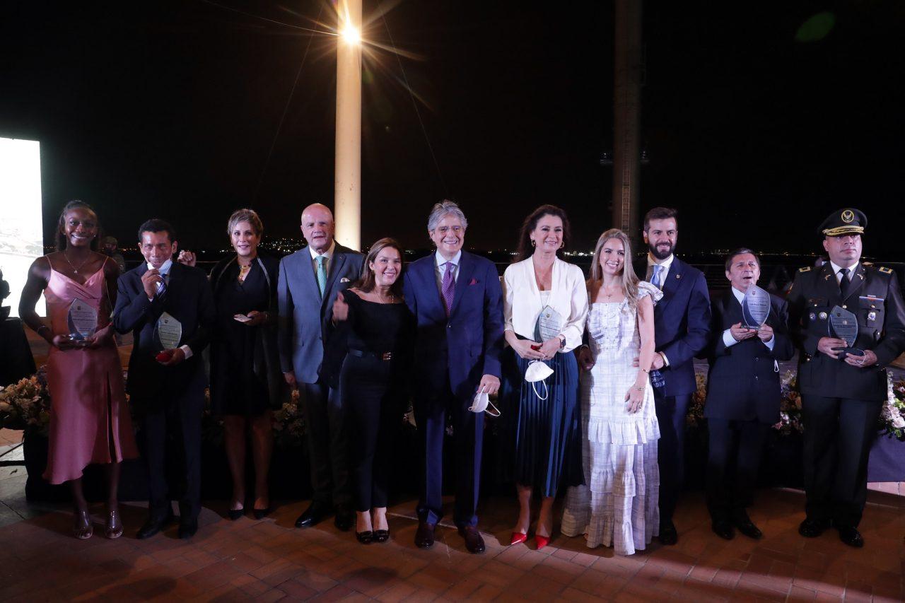 ACTO. El Gobierno rindió homenaje a Guayaquil por su independencia