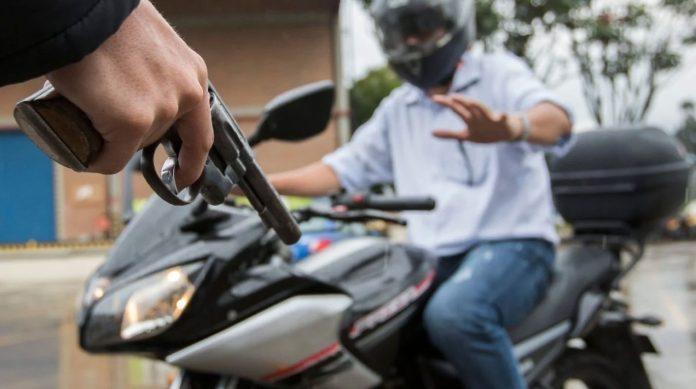 Robo de moto en Babahoyo