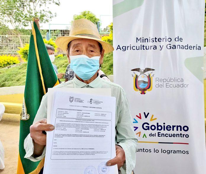 Legalizan 142 títulos de propiedad de tierras