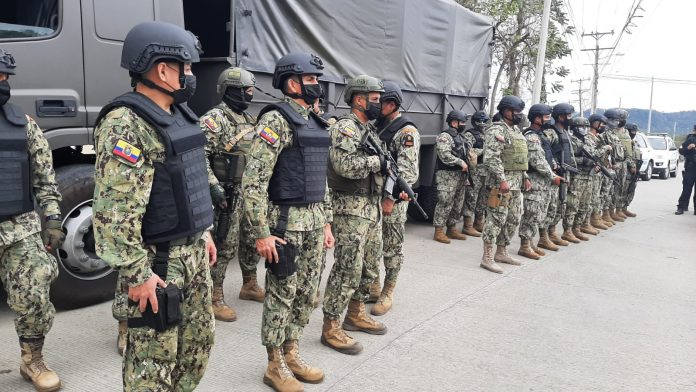 Despliegue armado continúa en Esmeraldas