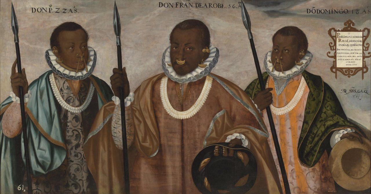 'Los tres mulatos de Esmeraldas' se exhibe en Museo de España