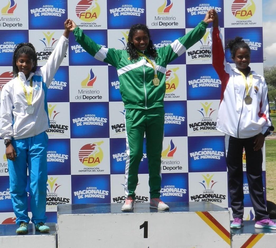 Atleta esmeraldeña representará al país en campeonato
