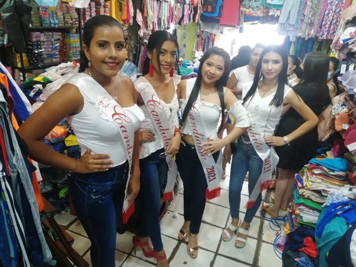 Algunas de las candidatas visitaron las oficinas de Diario La Hora.