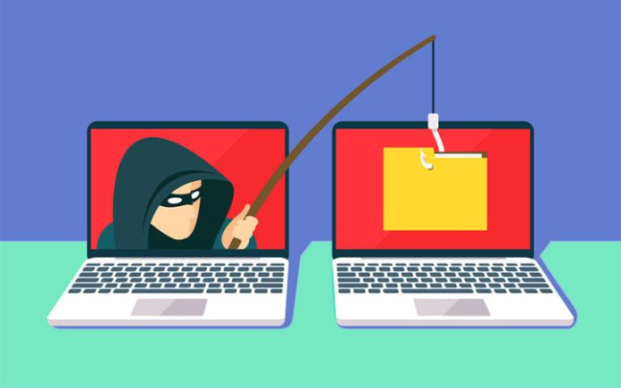 El phishing, o envío de mensajes falsos de empresas o bancos, es una forma muy extendida de estafa en línea.