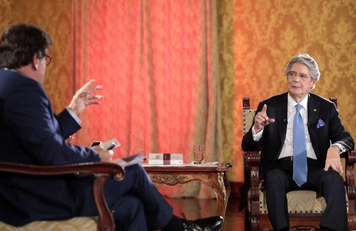 El presidente Guillermo Lasso afirmó que hay una conspiración en su contra